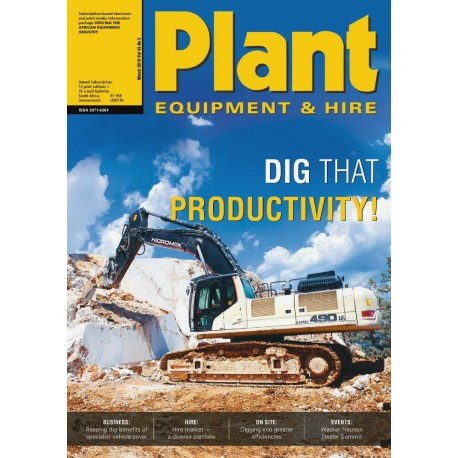 Plant Equipment and Hire magazine